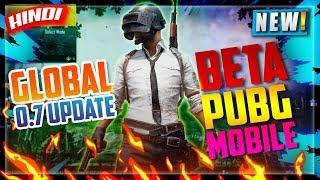 🔥PUBG MOBILE 0.7 UPDATE GLOBAL BETA GAMEPLAY IN HINDI | BETA PUBG MOBILE | PUBG HINDI GAMING