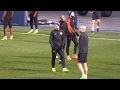 Manchester City Players Train Ahead Of Champions League Match Against Monaco video & mp3