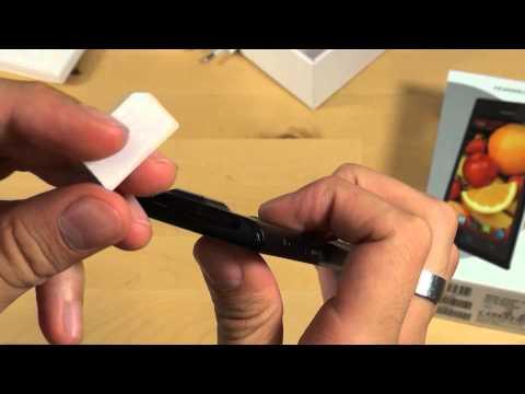 Huawei Ascend P1 - Erster Eindruck - Teil 1