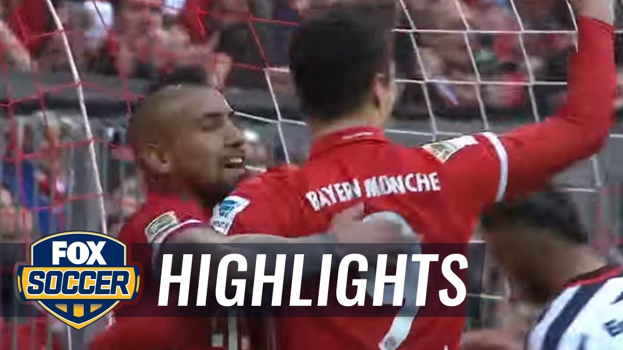 bayern frankfurt highlights