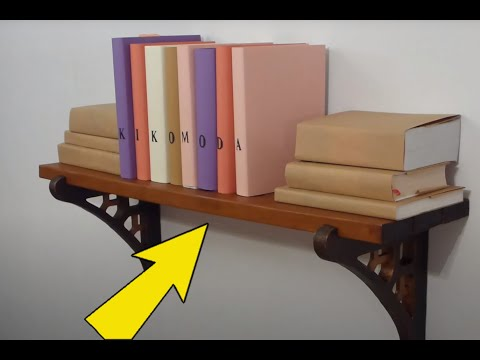 DIY How to make a Cardboard Shelf + load testing, (cardboard furniture - shelf) HD