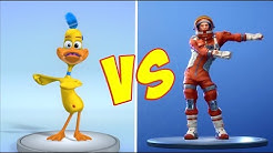 FORTNITE DANCE CHALLENGE with PAPEROTTI - The Funny Duck