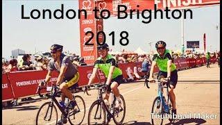 London to Brighton bike ride 2018