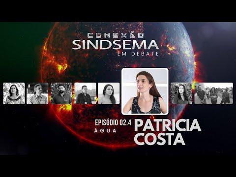Patrícia Costa no Especial sobre Água, do Conexão Sindsema