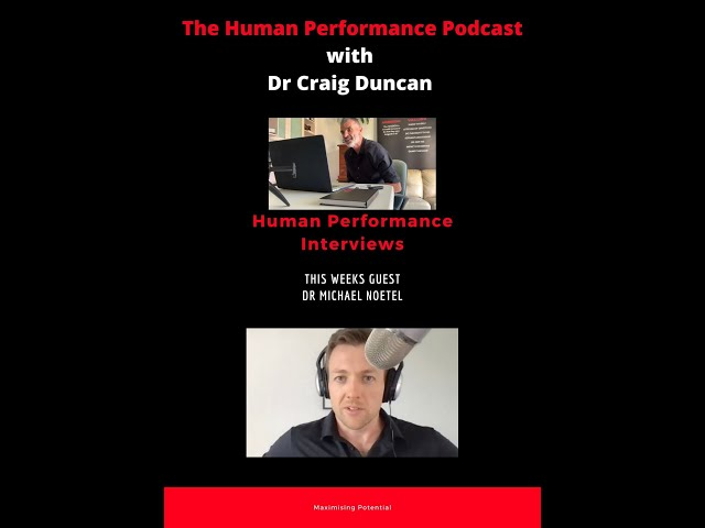 The Human Performance Podcast with Dr Craig Duncan                                PRODUCTIVITY