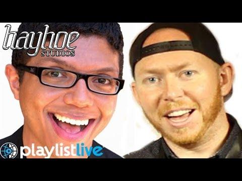 Tay Zonday and Tremain Hayhoe talk Playlist Live 2015