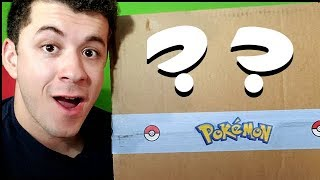 Pokemon Sent Me TWO SPECIAL BOXES! What's inside them?