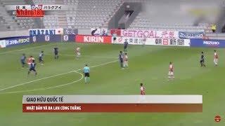 Bản tin thể thao (21h45 - 13/6) : Nhật Bản Và Ba Lan Cùng Thắng