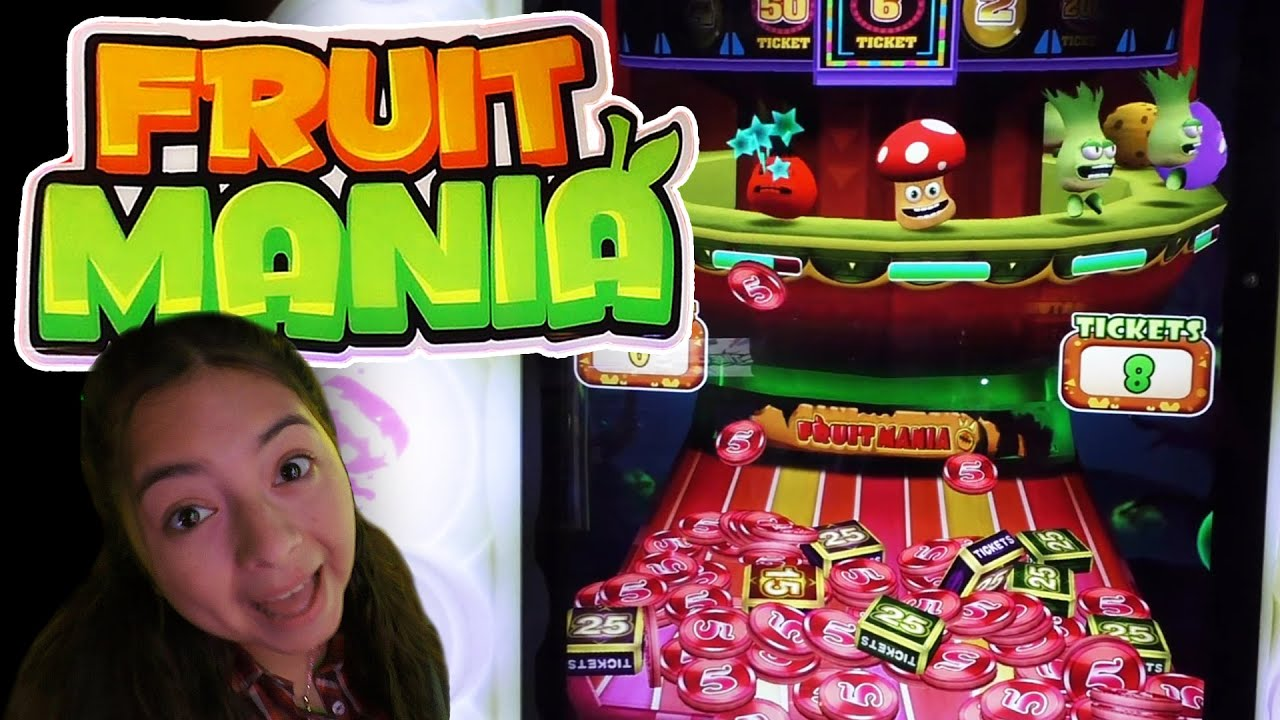Fruit Mania - Arcade Ticket Game