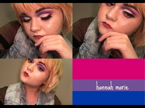 Bisexual Pride Makeup!