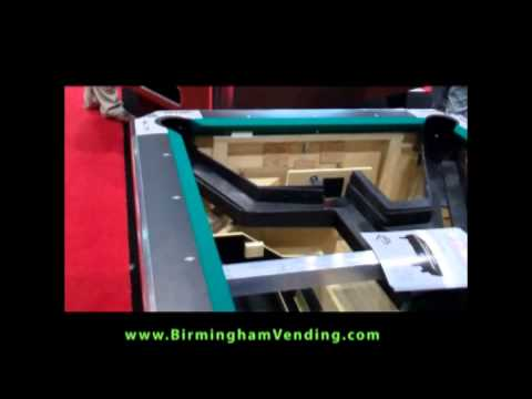 Valley Panther Coin Operated Pool Table by Birmingham Vending.flv