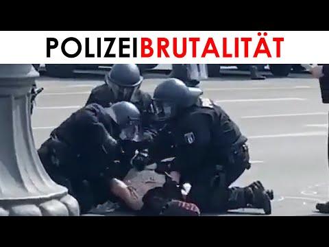 Merkels Polizei: Erschreckende bislang unveröffentlichte Bilder zur Brutalität in Berlin 29./30.8.
