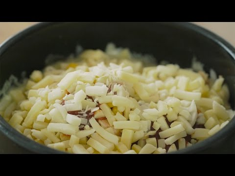 [4K VIDEO] 눈으로 먹는 치즈밥 : Cheese Rice : Honeykki 꿀키