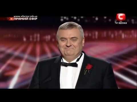 04 - Яков Головко - Go Down Moses X Factor 4 прямой эфир