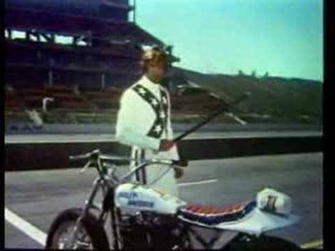 George Hamilton is Evel Knievel
