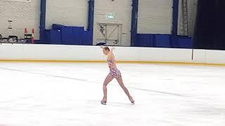 Nicole Lewis Figure Skating Trophy Night 2018