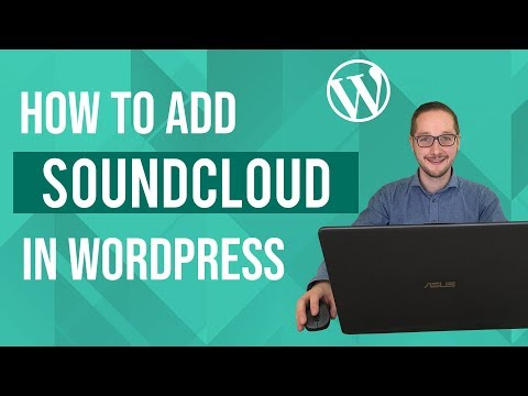 How to add Soundcloud to Wordpress Tutorial thumbnail