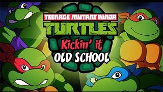 TMNT Kickin' it Old School - Черепашки Ниндзя драка бродилка