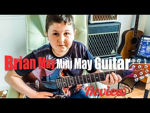 Brian May Mini Guitar Review (Feat Charlie Rundle)