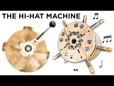 I Made A Hi-Hat Machine - Will It Work? | Marble Machine X #108
