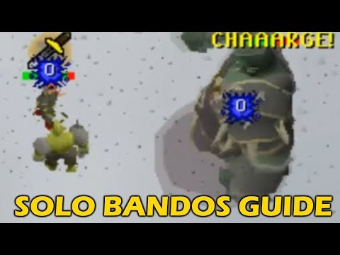 [OSRS] SOLO Bandos Guide For NOOBS