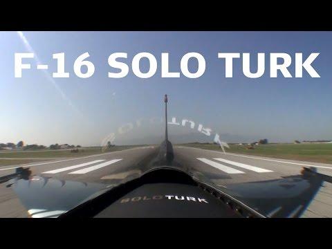 F-16 Solo Turk Turkey Izmir 2011