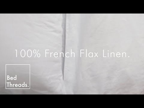 Bed Threads - 100% French Flax Linen Bedding