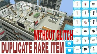 How I Duplicate Rare Item Without Glitch The Sims Freeplay