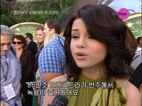 Selena Gomez - Fly To Your Heart (Making video clip)