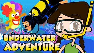 Underwater Facts! - Go on an Underwater Adventure! | Nikki