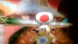 Mario Kart Wii - Mega Toad From A Cannon