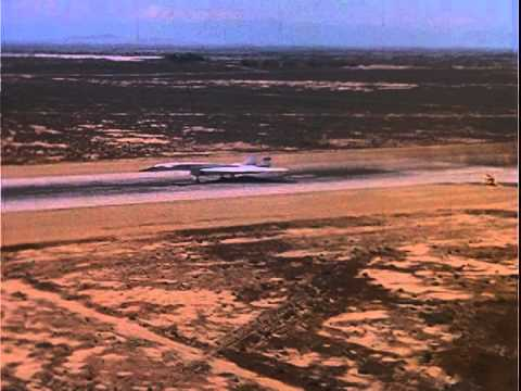 XB-70A Vakyrie: Various Test Flight Footage of Both XB-70A-1 and XB-70A-2 Valkyries (Silent Footage)