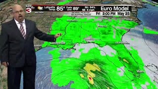 Rob's 10:00 p.m. full weather forecast