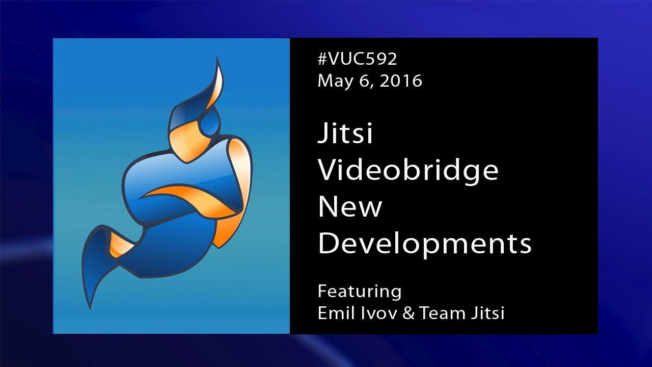 VUC592 Edited - Jitsi Video Bridge