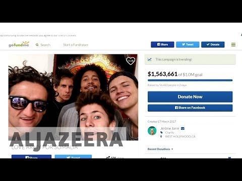 Celebrity social media push to help Somalia goes viral