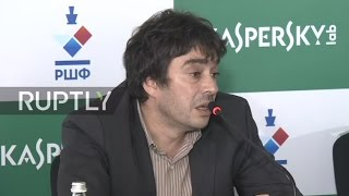 LIVE  Chess grandmaster Karjakin talks to press after World Chess Championship   English