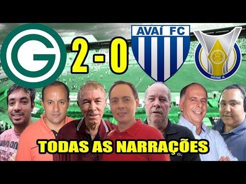 Todas as narrações - Goiás 2 x 0 Avaí | Brasileirão 2019