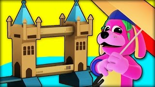 "London Bridge Is Falling Down | Nursery Rhymes For Kids | ""build A Bridge"" By Raggstv"