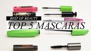 Top 5 Best Mascaras, best mascara