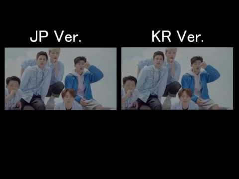 iKON - 취향저격(MY TYPE)  JPver. KRver. comparison