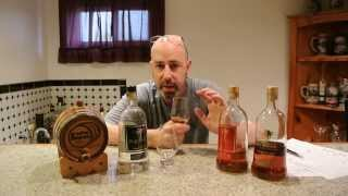 Palm Ridge Rye and Palm Ridge Virgin Whiskies REVIEW! E-man Booze!