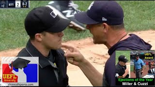 2019 Ejections of the Year - Brennan Miller & Phil Cuzzi Eject Yankees