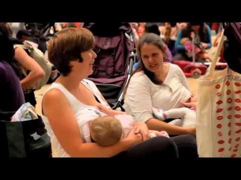 флэшмоб кормящих мамочек