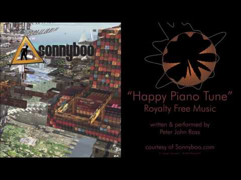 SONNYBOO's Royalty Free Music - Happy Piano Tune by Peter John Ross