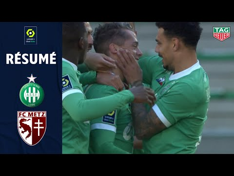 St. Etienne Metz Goals And Highlights