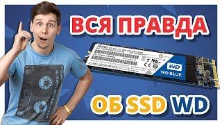 ПЛЮСЫ и МИНУСЫ SSD от Western Digital