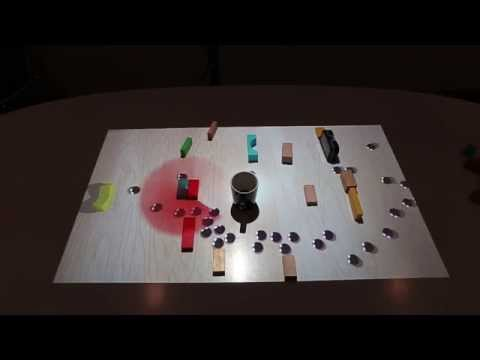 VirtualTable: a projection augmented reality game