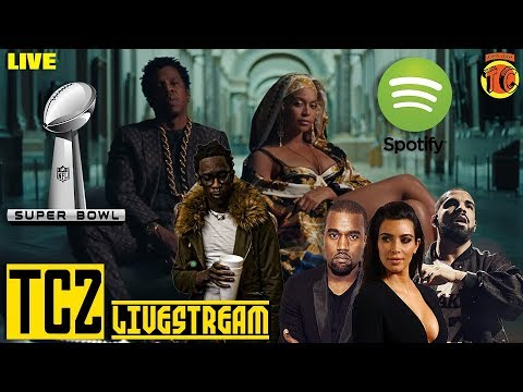 TC84: Jay Z and Drake Heavy Weight Title Fight, The Carters vs. Kanye, Spotify, NFL KISS the RING