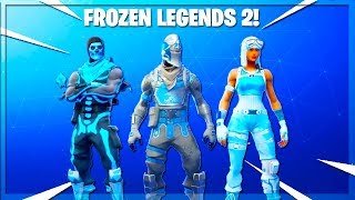 The New *Frozen Legends Pack 2* In Fortnite Battle Royale!