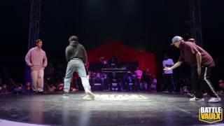 Redbull BcOne All star VS Tekken Crew | Round 1| Battle De Vaulx International